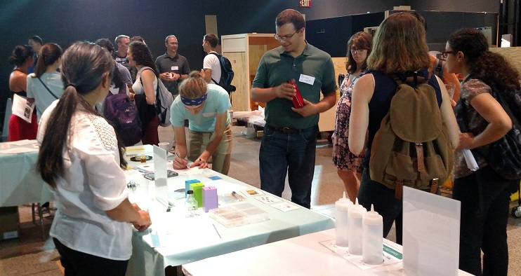 Building with Biology on-site scientist orientation
